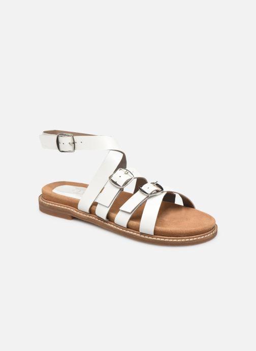 Sandales et nu-pieds L'Atelier Tropézien SH 326 Blanc vue détail/paire