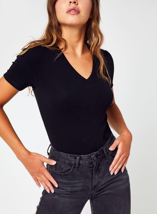 Vêtements Accessoires Tee Shirt Mc Col V F