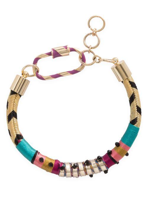 Diversos Hipanema Bracelet Benji Oro y bronce vista de detalle / par