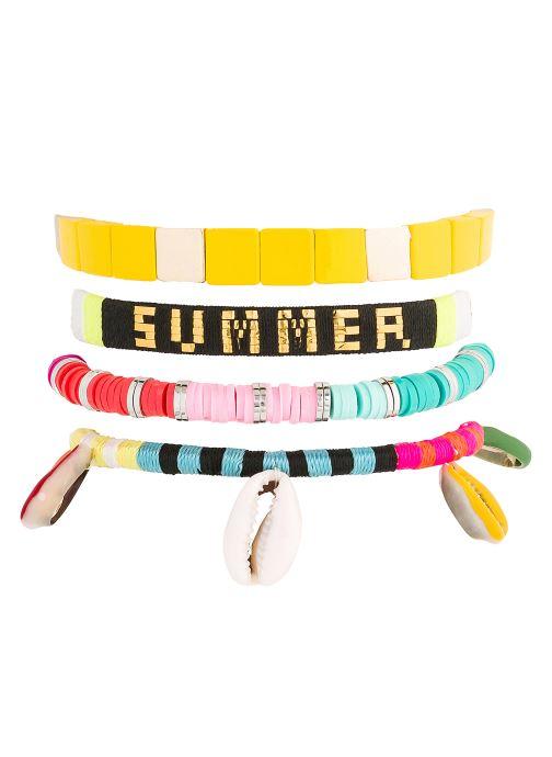 Divers Hipanema Bracelet Entrance Multicolore vue détail/paire