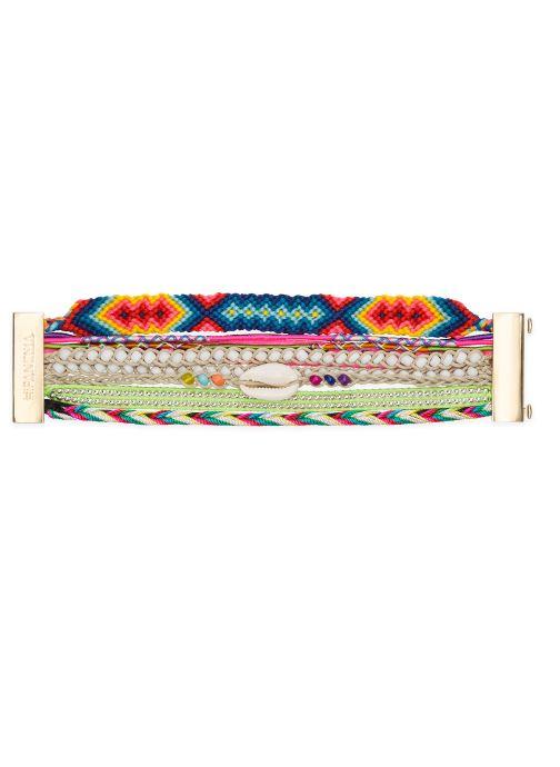 Divers Hipanema Manchette Version Multicolore vue détail/paire