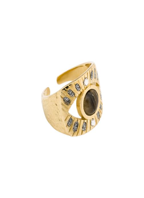 Sonstiges Hipanema Bague Salma gold/bronze detaillierte ansicht/modell