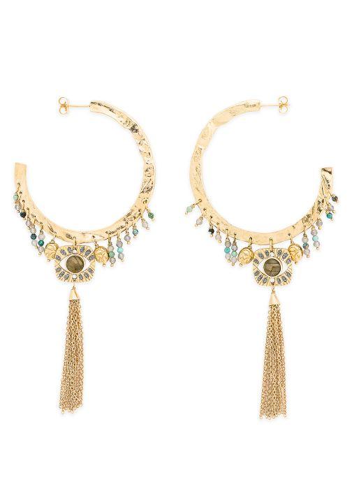 Sonstiges Hipanema Boucles d'oreilles Cloe gold/bronze detaillierte ansicht/modell