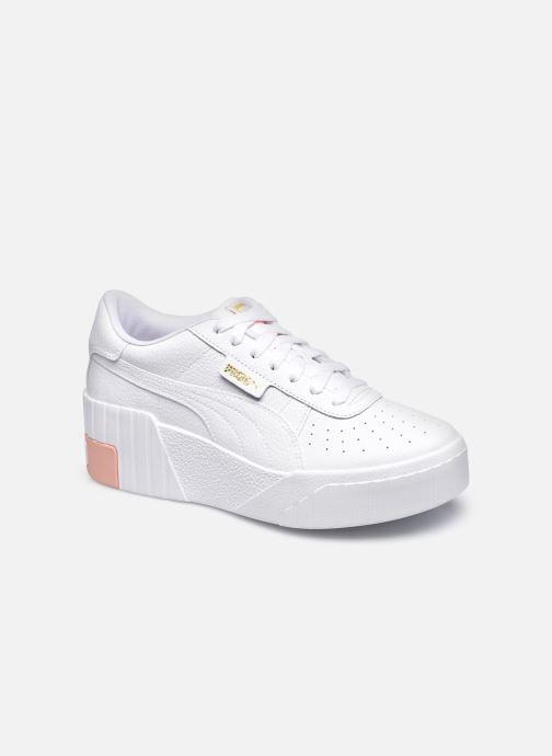 Sneaker Puma Cali Wedge Wns weiß detaillierte ansicht/modell