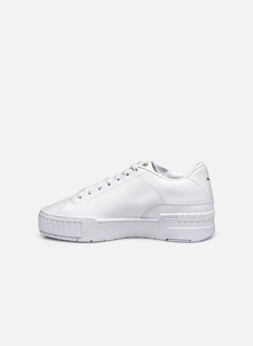 Sneaker Puma Cali Sport Clean Wn'S weiß ansicht von vorne