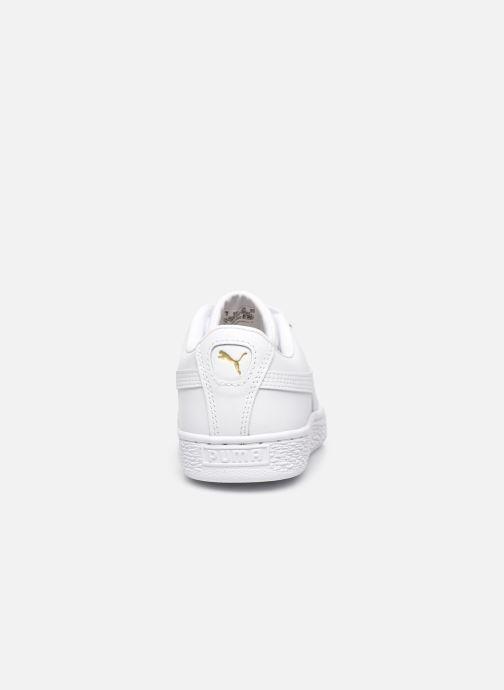 Sneakers Puma Basket Classic Xxi Jr Wit rechts