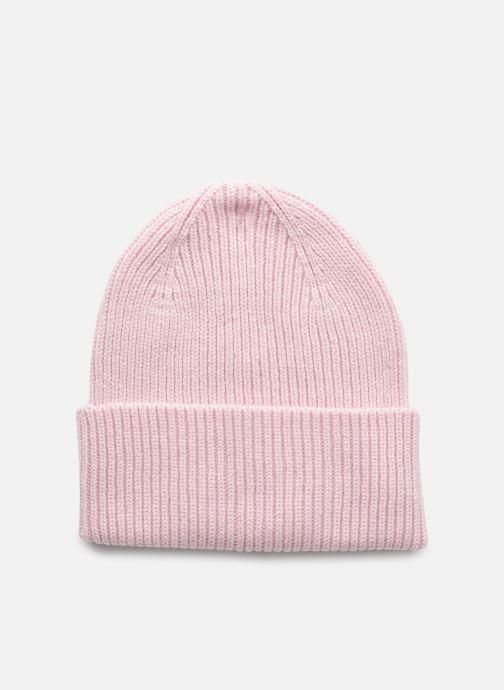 Mütze Colorful Standard Merino Wool Beanie F rosa detaillierte ansicht/modell