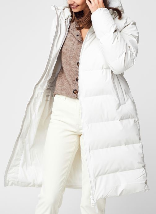 Kleding Accessoires Long Puffer Jacket F
