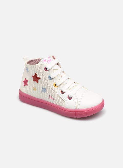 Sneakers Geox B Trottola Girl B024AC Wit detail