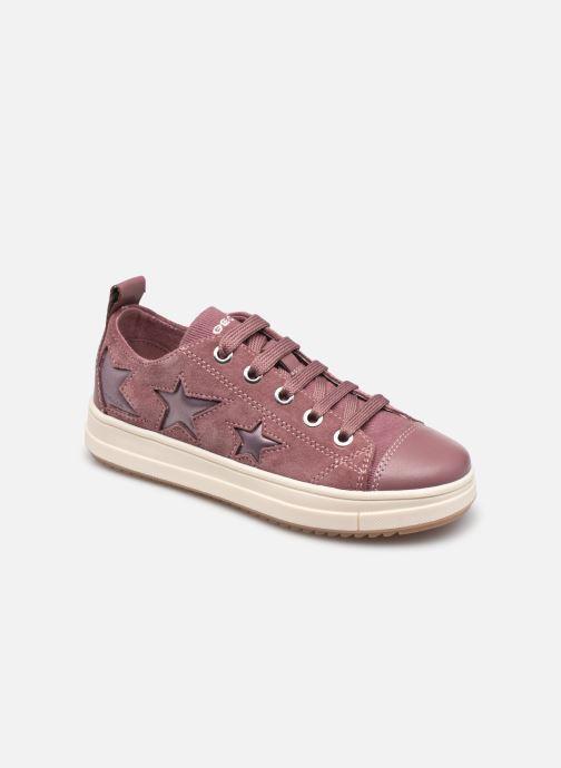 Sneaker Geox J Rebecca Girl J02BDF rosa detaillierte ansicht/modell