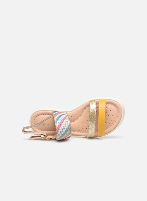 Sandalen Geox J Sandal Coralie Girl J026EF Multicolor links