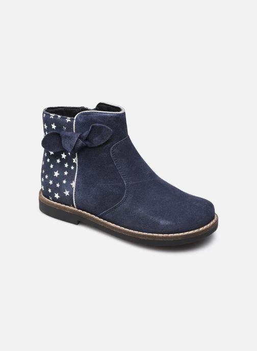 Bottines et boots Rose et Martin KRYSTEL LEATHER Bleu vue détail/paire
