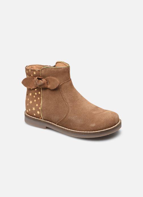 Bottines et boots Rose et Martin KRYSTEL LEATHER Marron vue détail/paire