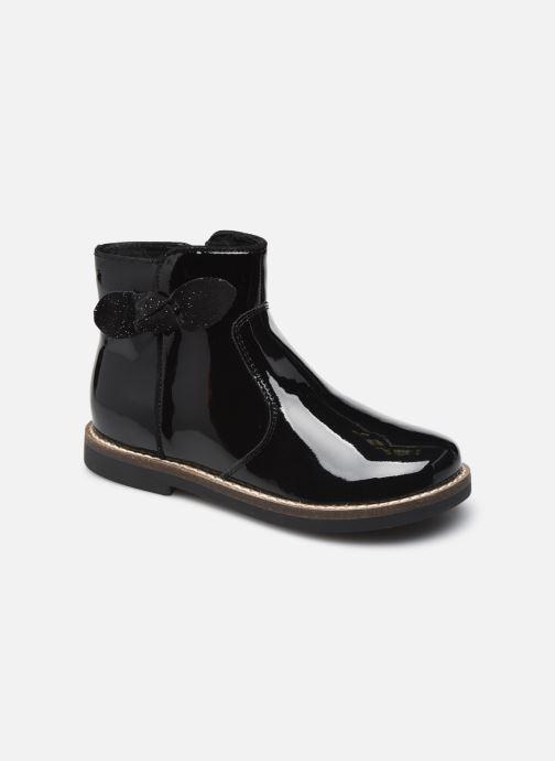 Bottines et boots Rose et Martin KRYSTEL LEATHER Noir vue détail/paire
