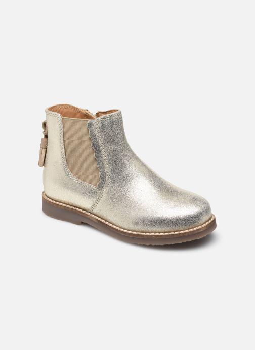Bottines et boots Rose et Martin KIARA LEATHER Or et bronze vue détail/paire
