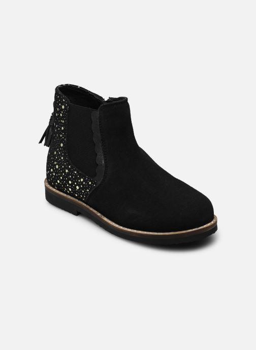 Bottines et boots Rose et Martin KIARA LEATHER Noir vue détail/paire