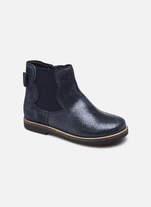Bottines et boots Rose et Martin KENDRA LEATHER Bleu vue détail/paire