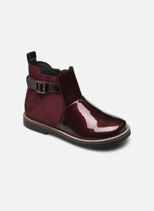 Bottines et boots Rose et Martin KESSIE LEATHER Bordeaux vue détail/paire