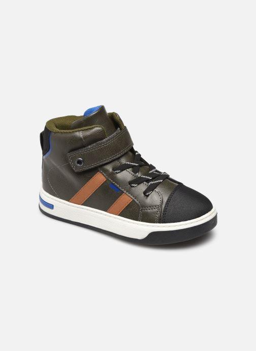 Baskets I Love Shoes COLOUIS Vert vue détail/paire