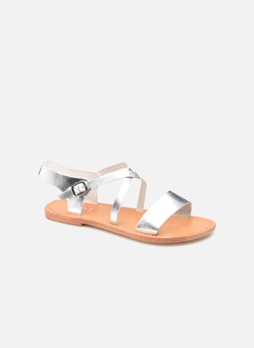 Sandales et nu-pieds White Sun MANAUS Argent vue détail/paire