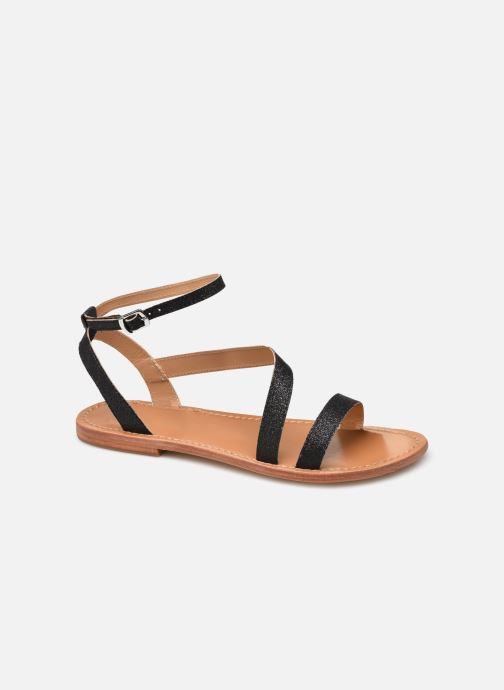 Sandales et nu-pieds White Sun XIGALA Noir vue détail/paire