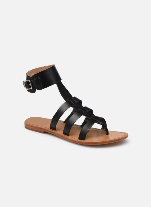 Sandales et nu-pieds White Sun NOBLESSA Noir vue détail/paire