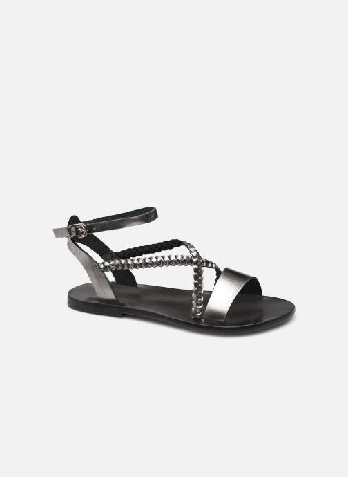Sandales et nu-pieds White Sun LEANDRA Argent vue détail/paire
