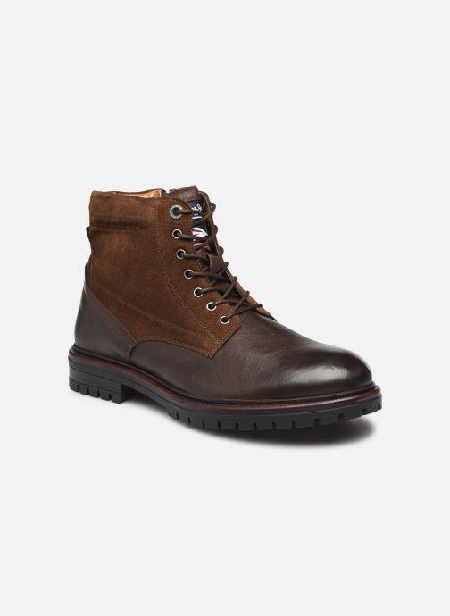 Bottines et boots Pepe jeans NED BOOT COMB Marron vue détail/paire