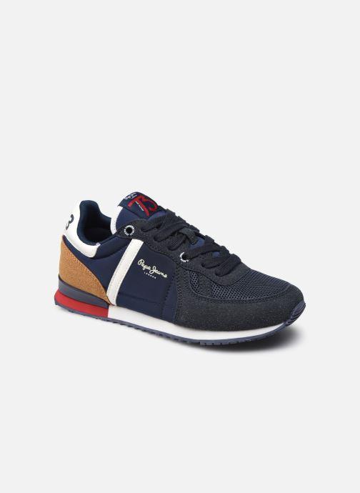 Sneaker Pepe jeans SYDNEY COMBI BOYS blau detaillierte ansicht/modell