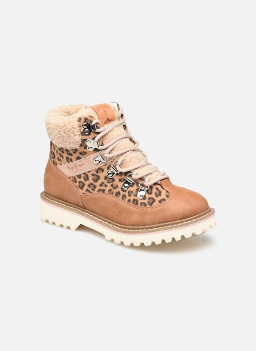 Stiefeletten & Boots Pepe jeans LEIA TREK GIRLS braun detaillierte ansicht/modell