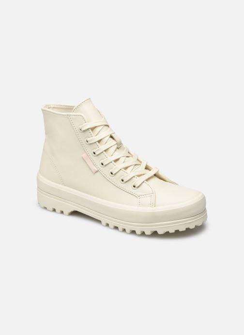 Sneakers Superga Alpina Nappa Hi Beige vedi dettaglio/paio