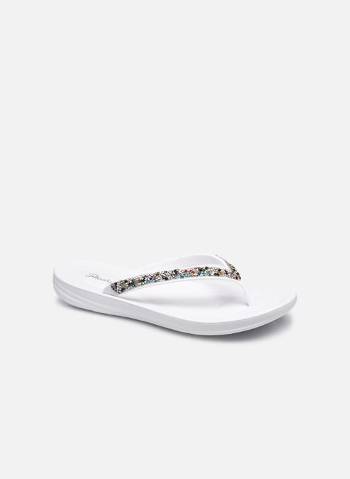 Slippers Skechers BUNGALOW/DAILY SHINE Wit detail
