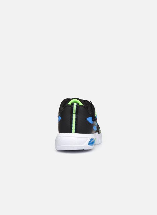 Sneakers Skechers FLEX-GLOW 2 Zwart rechts
