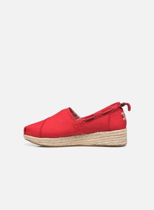 Espadrilles Skechers HIGHLIGHTS Rood voorkant