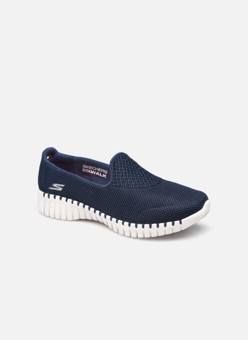 Ballerina's Skechers GO WALK SMART Blauw detail