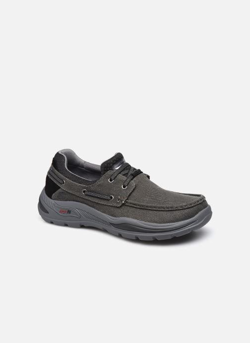 Zapatos con cordones Skechers ARCH FIT MOTLEY Negro vista de detalle / par