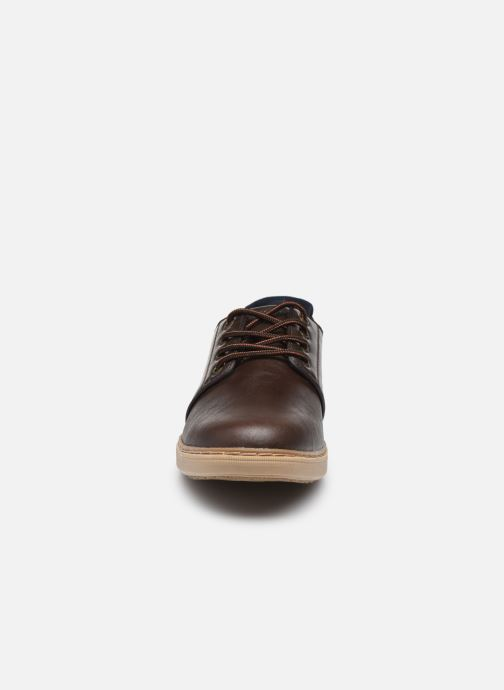 Sneaker Skechers LANSON braun schuhe getragen