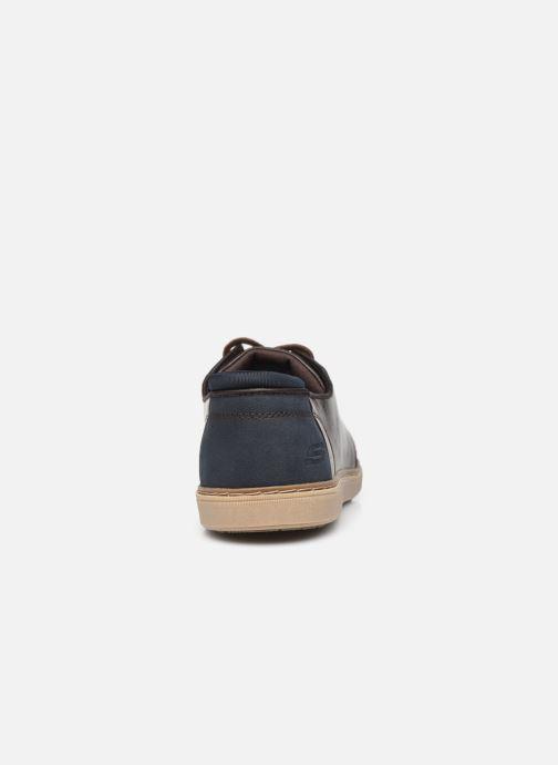 Sneaker Skechers LANSON braun ansicht von rechts