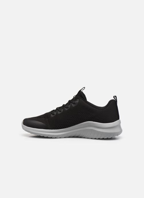 Sneaker Skechers ULTRA FLEX 2.0 schwarz ansicht von vorne