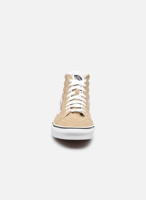 Sneaker Vans UA SK8-Hi M braun schuhe getragen
