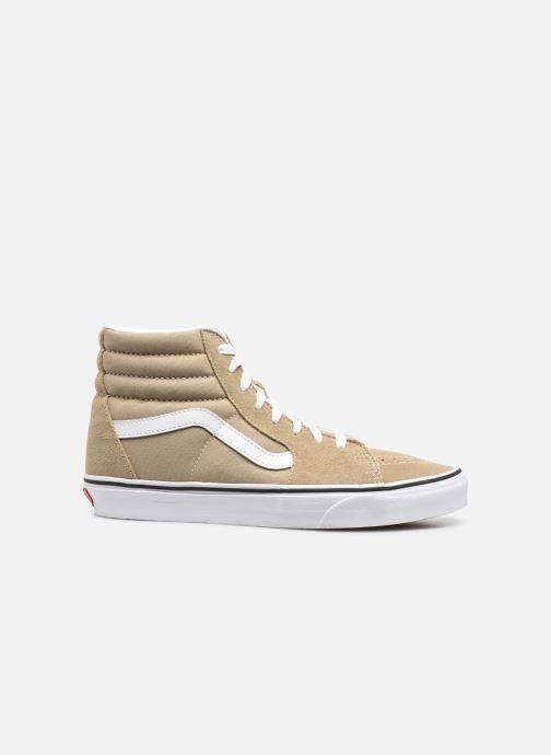 Sneaker Vans UA SK8-Hi M braun ansicht von hinten