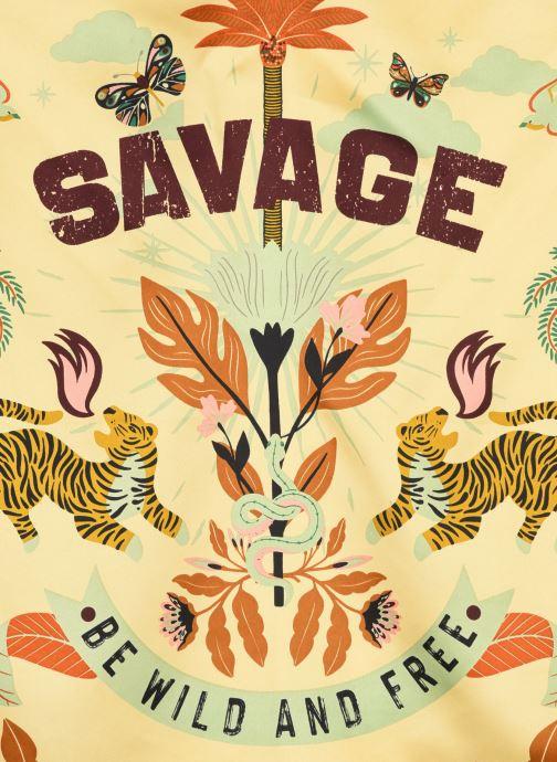 Schal Wild Savage Mini mehrfarbig ansicht von vorne