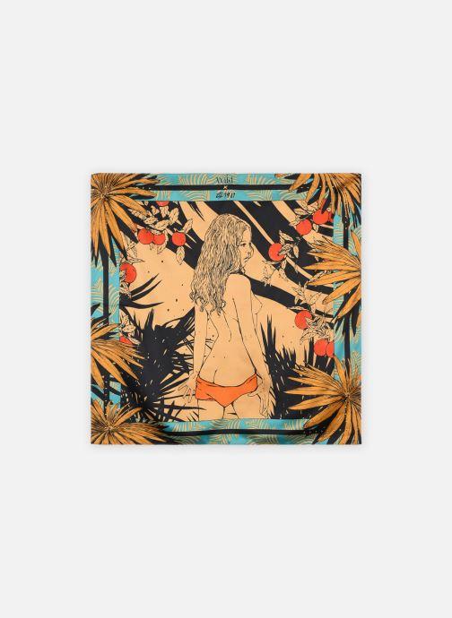 Sjaal Wild Palmlady Mini Blauw detail