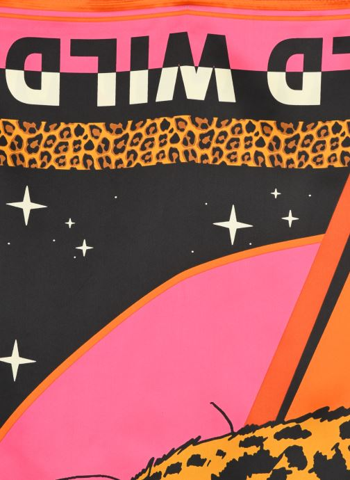 Schal Wild Wildcat rosa ansicht von vorne