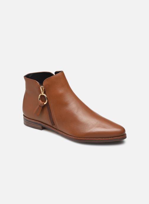 Bottines et boots Georgia Rose Soft Wala Marron vue détail/paire
