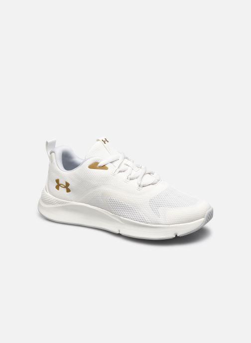 Chaussures de sport Under Armour UA Charged RC W Blanc vue détail/paire