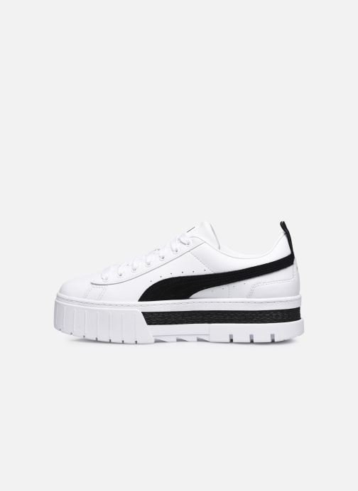 Sneakers Puma Mayze  Lth Wns Bianco immagine frontale