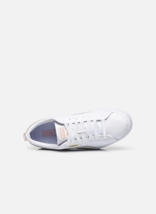 Sneakers Puma Mayze  Lth Wns Bianco immagine sinistra