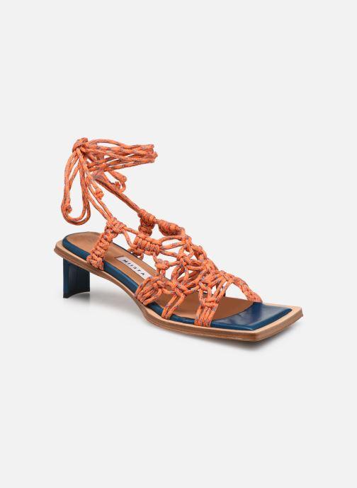 Sandalen Miista Annie orange detaillierte ansicht/modell