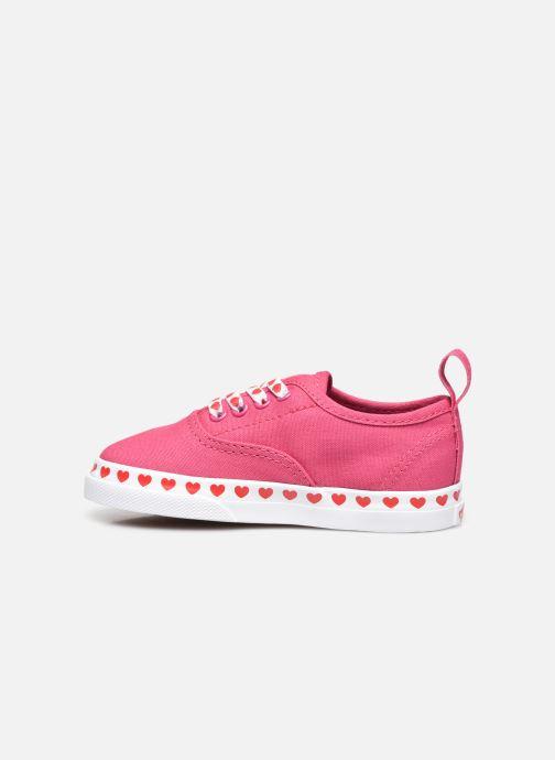 Sneaker Vans TD Authentic Elastic rosa ansicht von vorne
